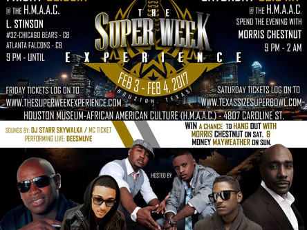 Itz Karma Super excited about Superbowl Super Week!