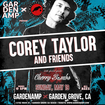 Corey Taylor and Friends At the Garden Amp 2019