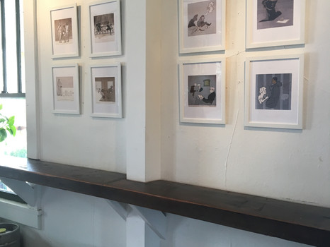 Small Framed Prints for Sale at The Company Store in NoDa through April