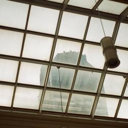 the atrium inside _levinemuseum yesterday #filmphotography #35mm #nikonfg #hannahbarnhardtphotos