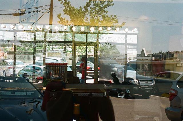 Plaza Midwood #35mm #filmphotography #hannahbarnhardtphotos #inpursuitofvivianmaier #hannahbarnhardt