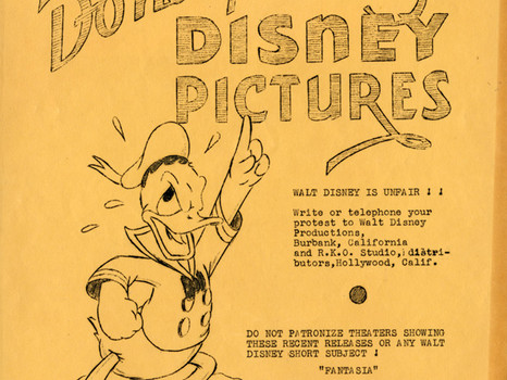 Disney Animators' Strike of 1941