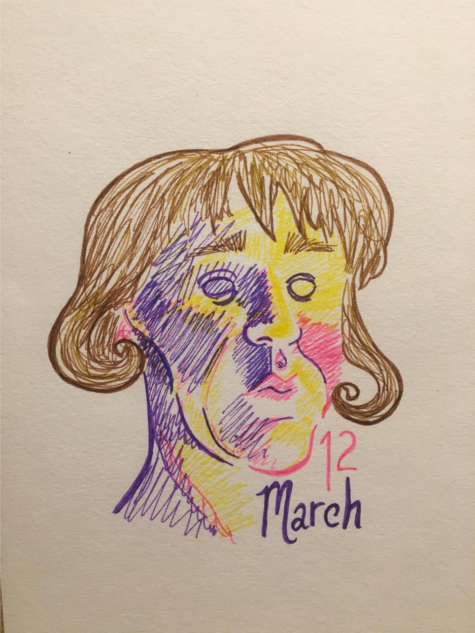 Self Portraits Week Ending March 17, 2018