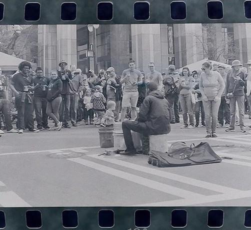 Drummer uptown during St.jpg
