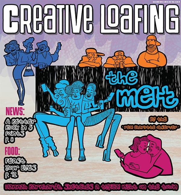 New Visual Narrative In Creative Loafing