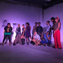oh my goodness, what a show 💔👏🏿👏🏾🤘🏿🤘🏿🤘🏿Artists United for Reproductive Justice at _goodye