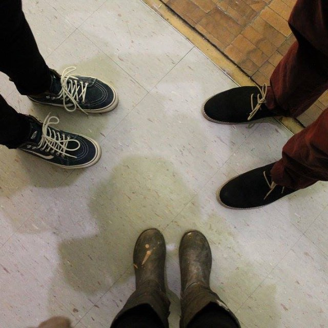 Art School Shoez (there's more than one way to be things) #roweaesthetics #rowearts