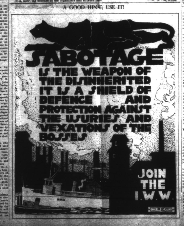 SABOTAGE: IWW Propaganda