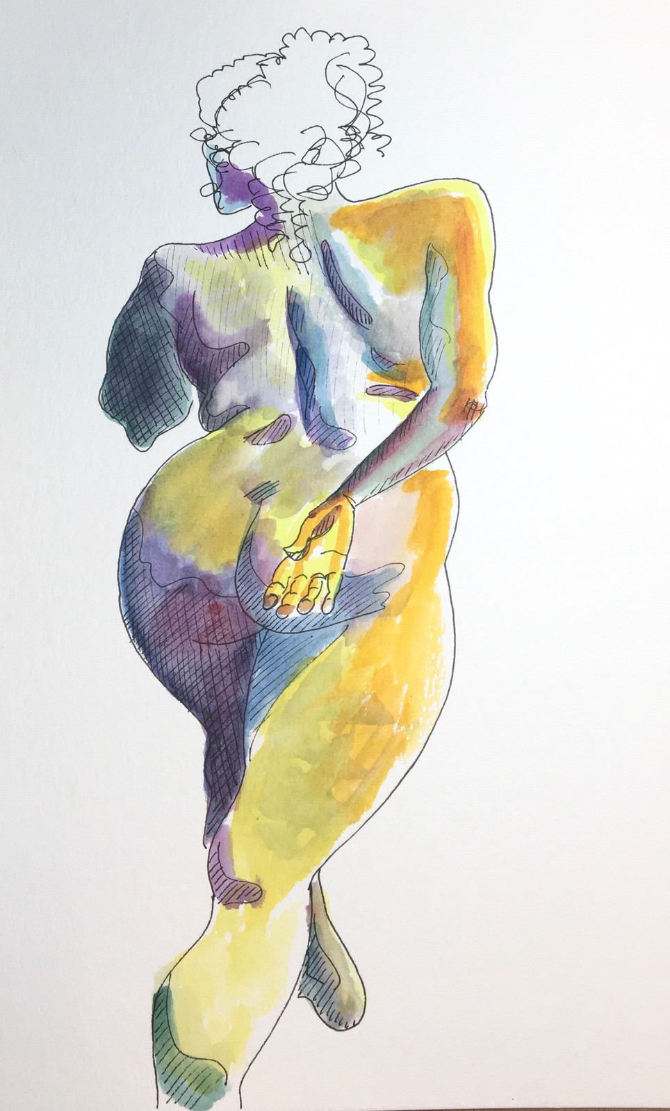 Added New Items to Online Store: Original Figure Drawings