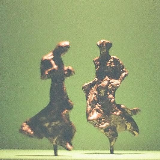 #Giacometti bronze at _thebechtler #35mm #filmphotography #nikonfg #cltarts #hannahbarnhardtphotos