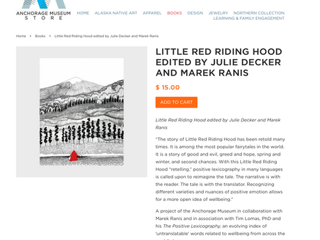 REPOSTING: New Book: Little Red Riding Hood