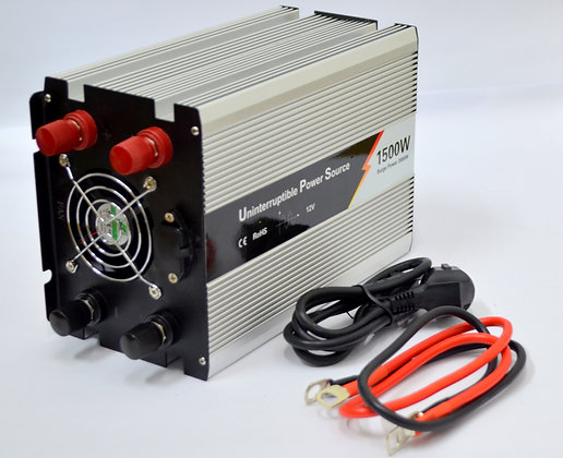 Inversor de Voltaje 1500 W