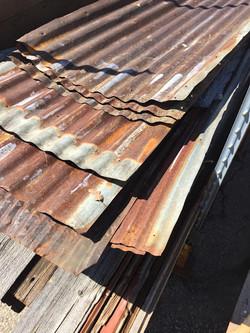 Rusty Corrugated Metal