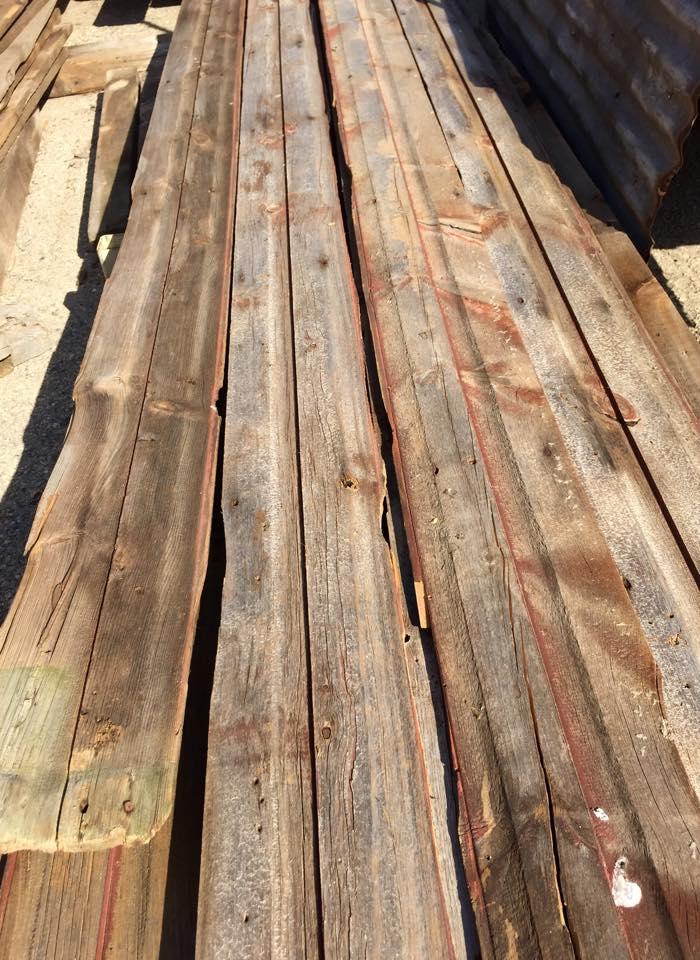 Reclaimed Wood, Barn Siding