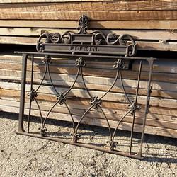 Pitkin Ornate Iron Gate