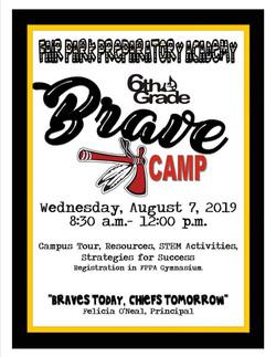 6th grade boot camp 2019