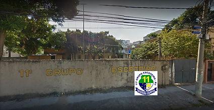 Frente do Grupo Escoteiro Siqueira Campos