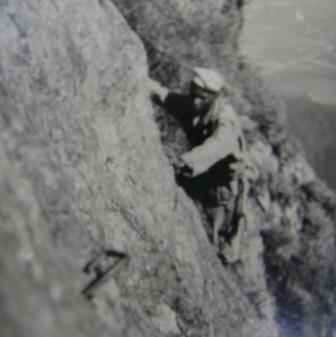 Luizão na Pedra da Gávea