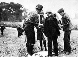 Acampamento na Ilha de Brownsea 1907