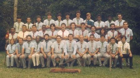 CAA Escoteiro e Senior 1984 - Campos Escola de Magé