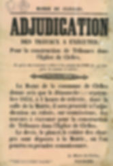 1854-adjudication-tribune-eglise-Clelles
