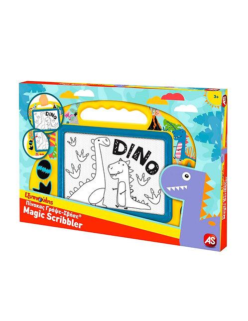 Μαγικός πίνακας Γράψε Σβήσε Baby Dinosaur Μεσαίος
