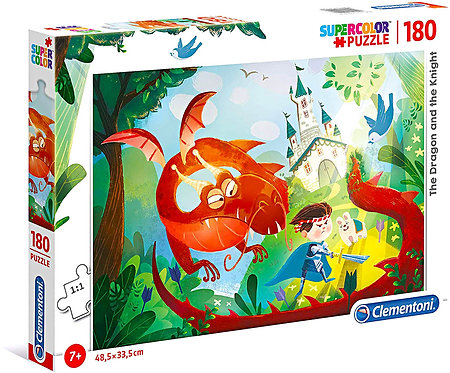 Puzzle Clementoni Super Color The Dragon And The Knight