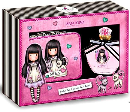 Santoro Gorjuss σετ άρωμα 50 ml σε μεταλλικό κουτί