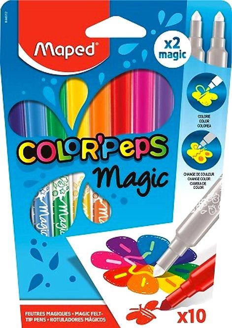 Μαρκαδόροι Maped Color'Peps magic (10 χρώματα)
