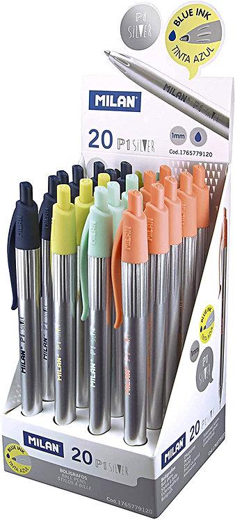 Στυλό Milan P1 Silver