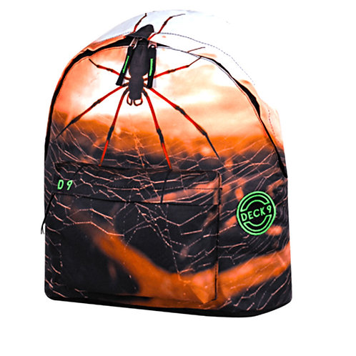 Deck Τσάντα σχολική με μία θήκη