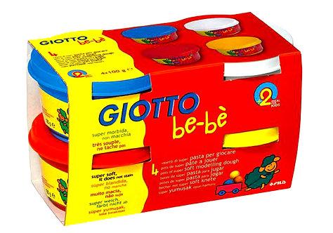 Πλαστοζυμαράκια Giotto Bebe 4X100gr