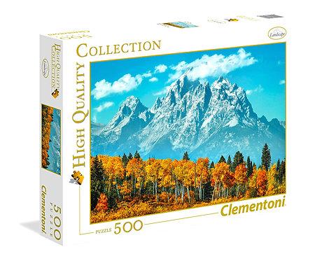 Πάζλ   49 x 36 cm 500 κομμάτια Θέμα Grand tenov in fall