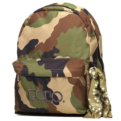 Τσάντα σχολική Polo original military