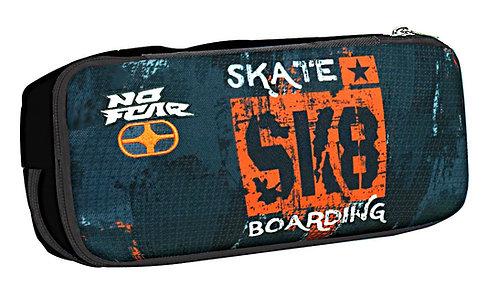 Κασετίνα διπλή Skate No Fear