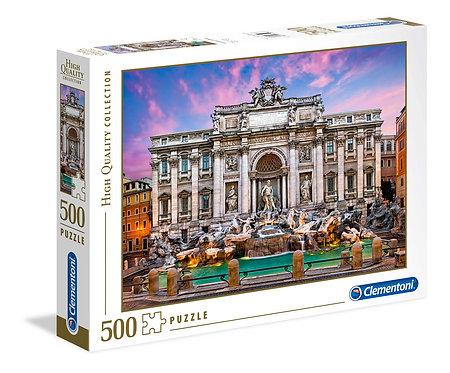 Παζλ Clementoni 500 Fontana di Trevi