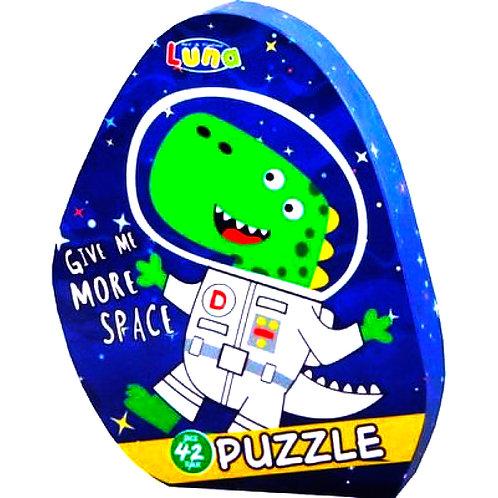 Πολύχρωμο Παζλ Αστροναύτης(42 κομμάτια)Luna