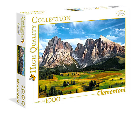Puzzle 69 x 50 cm 1000 κομμάτια  Η στέψη των 'Αλπειων