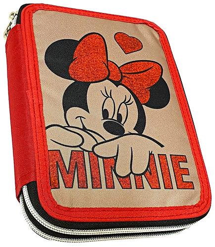 Κασετίνα Minnie Gim 2 θέσεων