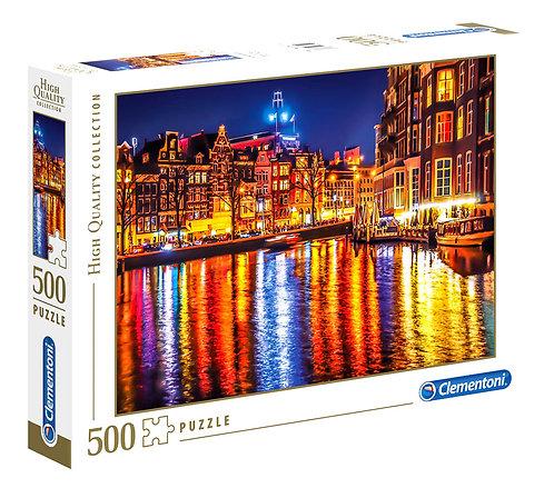 Παζλ 500 Τεμ. Clementoni H.Q. 'Αμστερνταμ