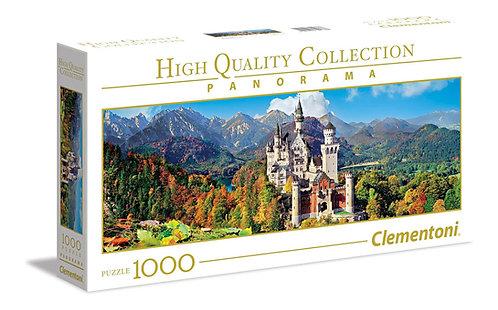 Puzzle 98χ33 cm  κάστρο Neuschwanstein panorama 100 κομμάτια