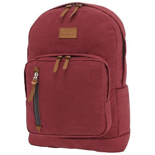 Τσάντα σχολική Polo Bole κόκκινη
