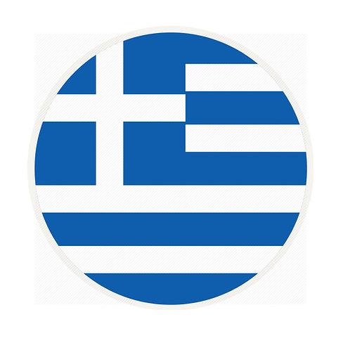 Μαγνητάκι τουριστικό Ελληνική σημαία