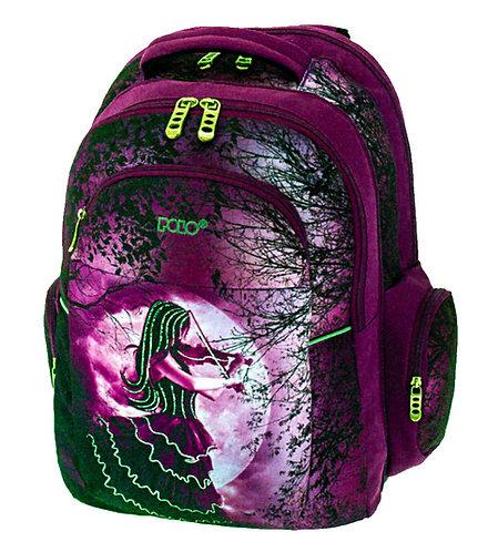 Τσάντα σχολική Polo unicorn