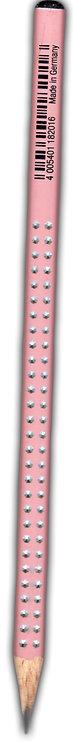 Μολύβι Faber-Castell με στρας ροζ ανοιχτό