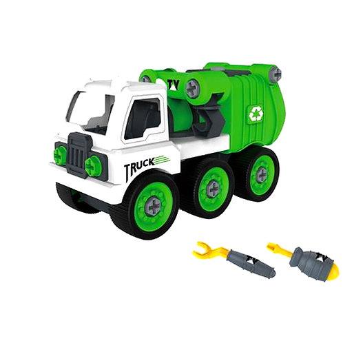 Συναρμολογούμενο φορτηγό για ανακύκλωση