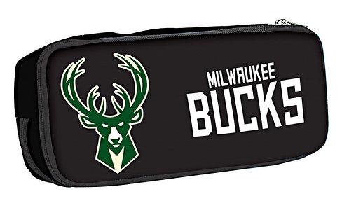 Κασετίνα διπλή Milwaukee Bucks No Fear