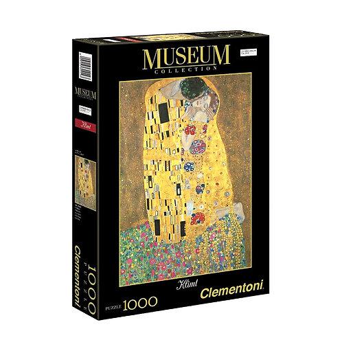 Puzzle 50 x 69 cm clementoni kleit :Το Φιλί 1000 κομμάτια