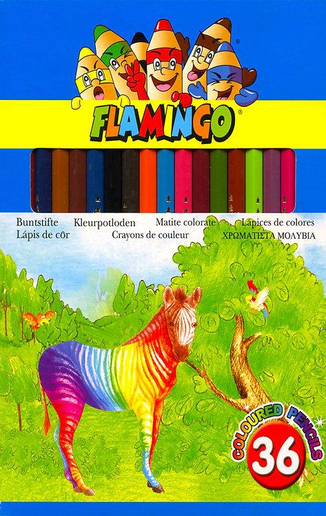 Ξυλομπογιές Flamingo