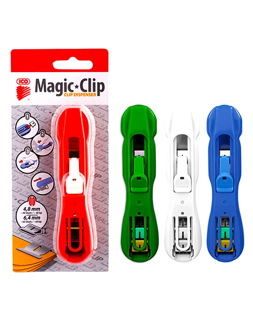 Magic clip dispenser